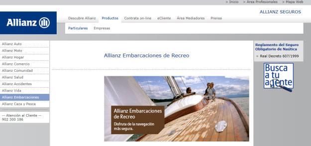 Seguro de embarcaciones online