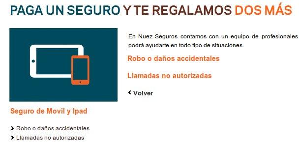 seguros iPhone