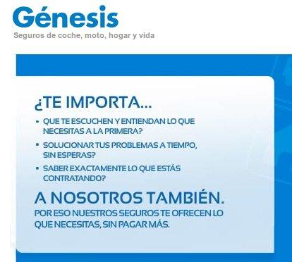 Genesis coche
