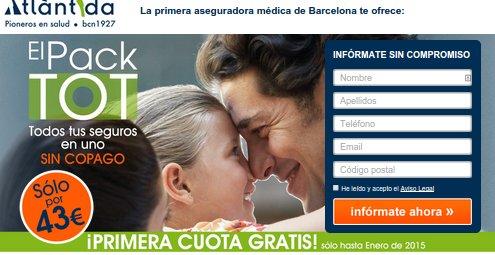 Atlantida seguros Barcelona