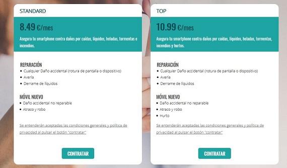 seguro de movil samsung iPhone