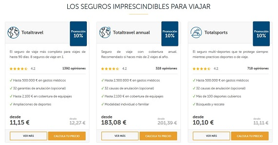 seguro de viaje intermundial