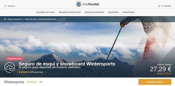Seguros de esquí